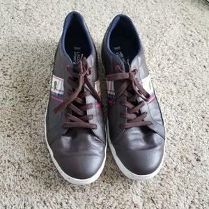 Lacoste Sneakers in Brown Leather